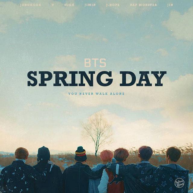 دانلود آهنگ Spring Day از بی تی اس BTS با کیفیت اصلی Mp3 و ترجمه متن